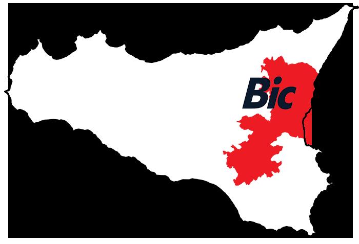 Bic Sicilia - Cartina