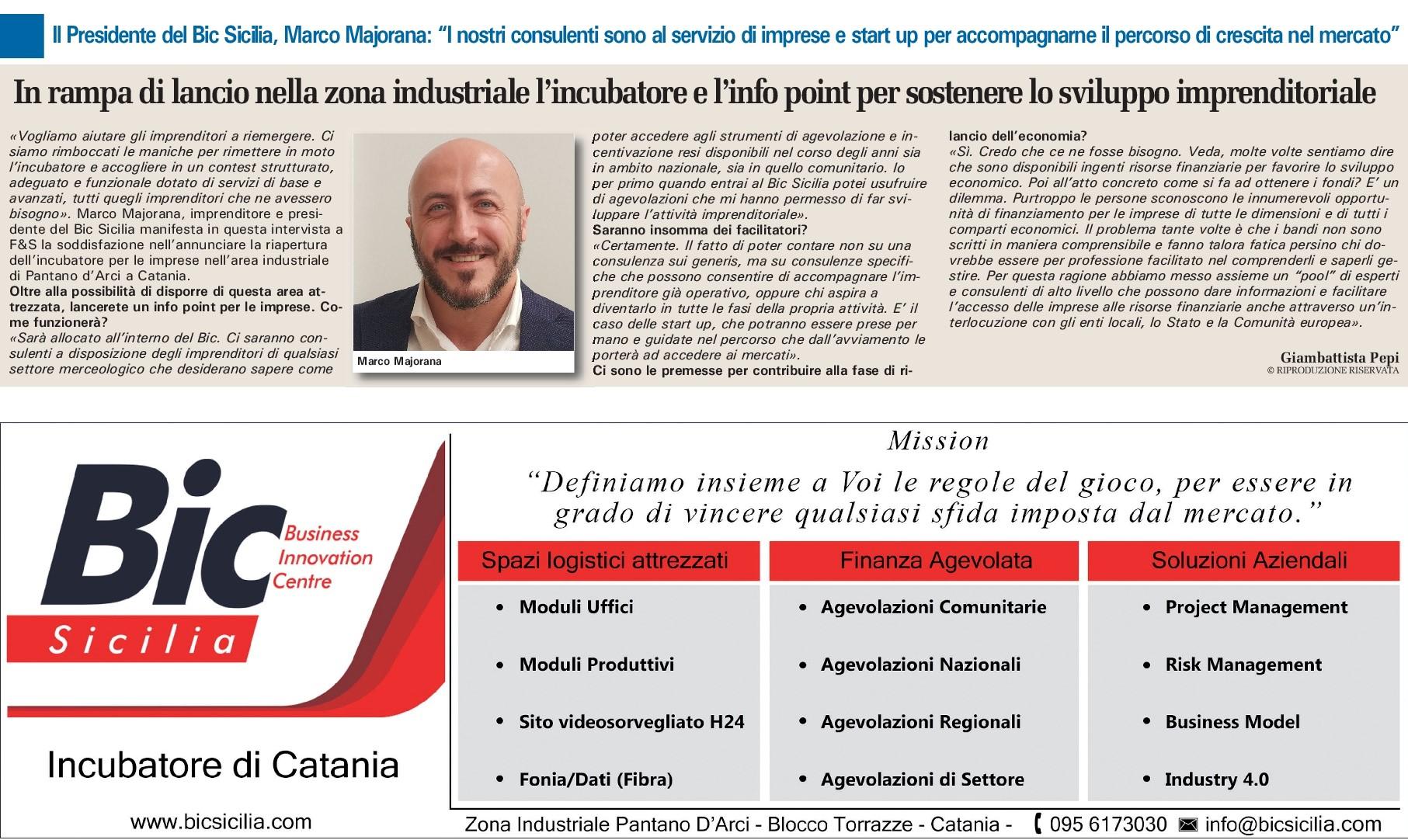 """""""La SICILIA"""" Finanza & Sviluppo"""